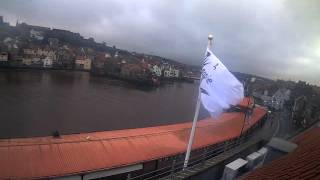Whitby Mon 4th Jan 2016 24-Hour Time-lapse (Upriver)