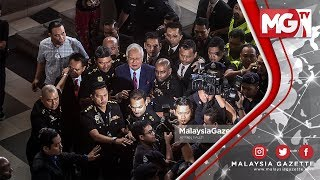 Video TERKINI : Najib Senyum, Tenang ke Kandang Tertuduh MP3, 3GP, MP4, WEBM, AVI, FLV Juli 2018