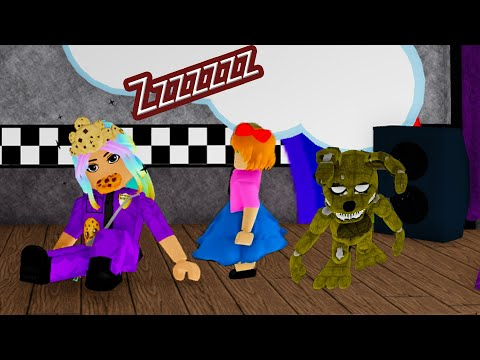 Don't Fall Asleep (Five Nights At Freddy's Roblox RP)