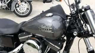 9. 2014 Dyna Street Bob Harley-Davidson FXDB Charcoal Pearl
