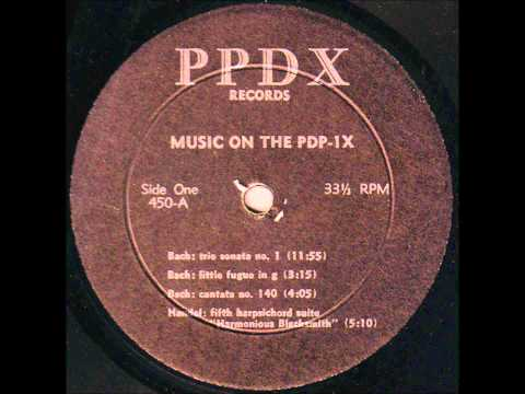 Music On The PDP-1X: Early Computer Music 1960's MIT Hacker Peter Samson PDP-1 Polyphonic Compiler