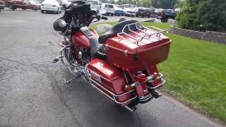 6. 2004 Harley Davidson Electra Glide Classic Motorcycle