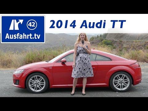 2014 Audi TT 2.0 TFSI sline – Fahrbericht der Probefahrt / Test / Review (German)