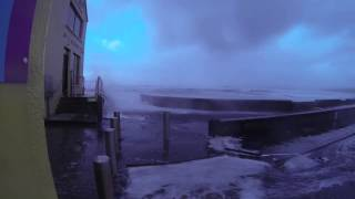 Clare Ireland  city pictures gallery : Storm at Lahinch, Co. Clare, Ireland (Jan, 2014).