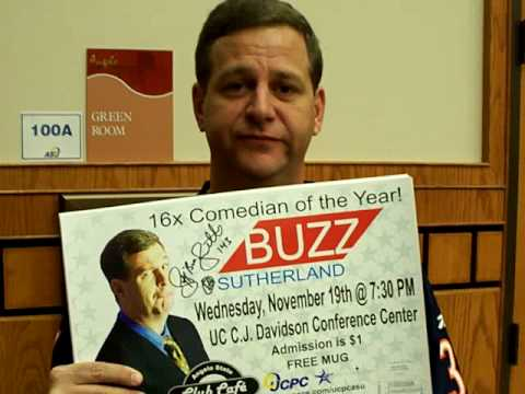 Club Cafe with Comedian Buzz Sutherland - Recap: Take 1