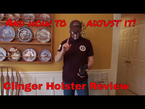 Clinger Holster Review.  Review and setup of Clinger Gear, Low Ride, and Cushion