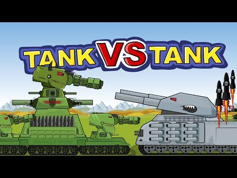 """Clash of Iron Monsters""  Cartoons about tanks"
