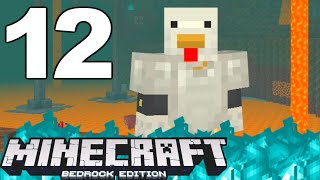 """Minecraft Bedrock : """"TRAPPED IN THE NETHER"""" ~ 12"""