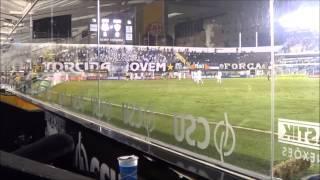 Vitória do Santos contra o Atlético Mineiro na Vila Belmiro por 1X0. Gol de Cícero.