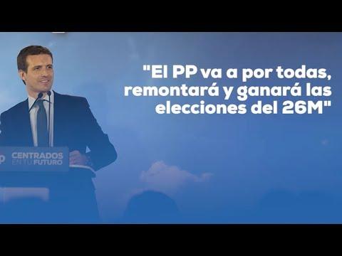 """El PP va a por todas, remontará y ganará las elecciones del 26M"""""""