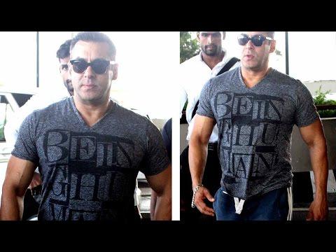 Airport Diaries: Salman Khan Returns To Mumbai Aft
