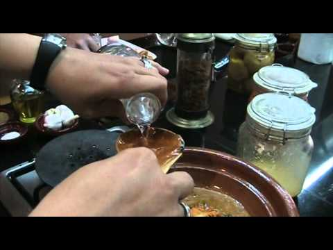 Cooking Class In La Maison Arabe: Chicken Tagine& Moroccan Salads- CookingWithAlia - Episode 140