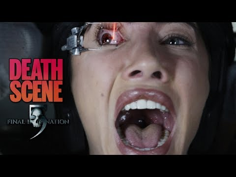 Final Destination 5 (2011) - Olivia Castle Death Scene