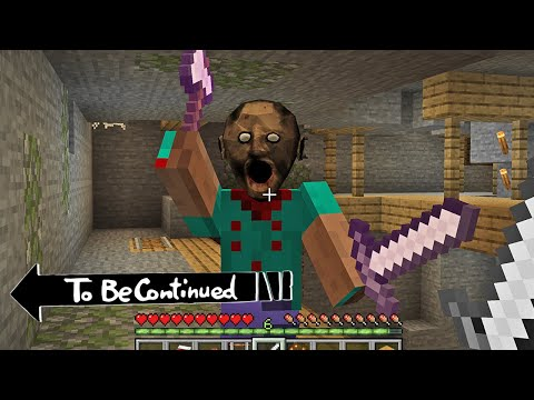 Don't touch granny in Minecraft - To be Continued By Scooby Craft part 2