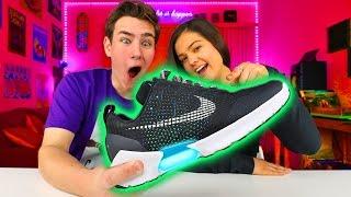 Video $720 SELF-LACING Back to the Future Shoes MP3, 3GP, MP4, WEBM, AVI, FLV April 2018