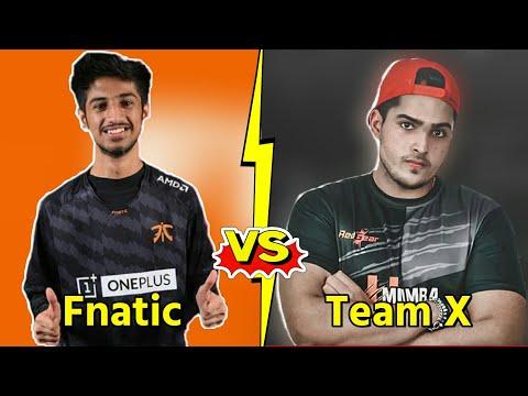 Fnatic Vs Team X fight | Owais Ash MaxKash TheDude vs 420op Aditya Destro EvoO . #competitive