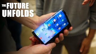 Samsung Galaxy F - The Next Phase Of INNOVATION