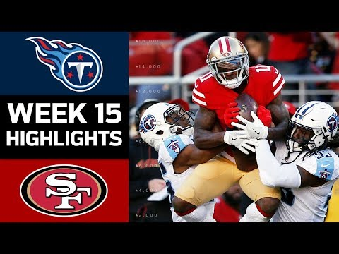 Titans vs. 49ers | NFL Week 15 Game Highlights (видео)