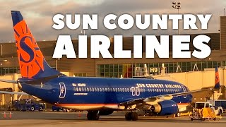 Sun Country Airlines from Minneapolis to Chicago Trip Report