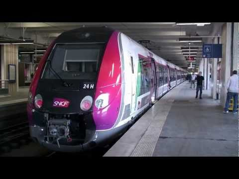 sncf - SNCF New Electric Multi Units Transilien (Nouvelle Automotrice Transilien) Z 50000 series (built by Bombardier) on the H Line, Paris Nord Station~Luzarches.