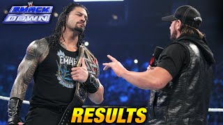 Nonton Wwe Smackdown 7 April 2016 Results  4 7 16  Film Subtitle Indonesia Streaming Movie Download