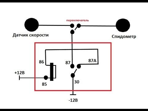 Схема для намотки спидометра своими руками