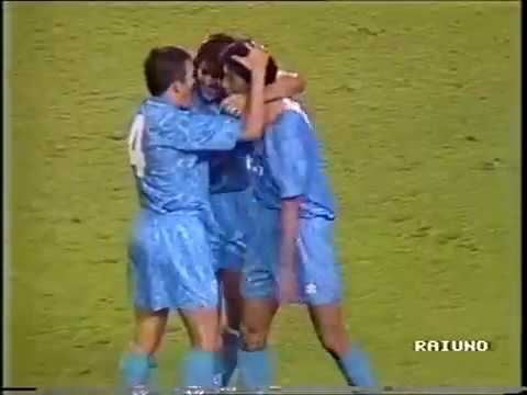 Valencia - Fonseca (Napoli). 1-5. UEFA Cup-1992/93