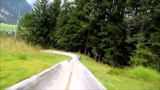 Leutasch Austria  city photos gallery : toboggan run austria leutasch sommerrodel naturrodel bahn österreich
