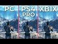 Fallout 76 – PC 4K Ultra vs. PS4 Pro vs. Xbox One X Graphics Comparison