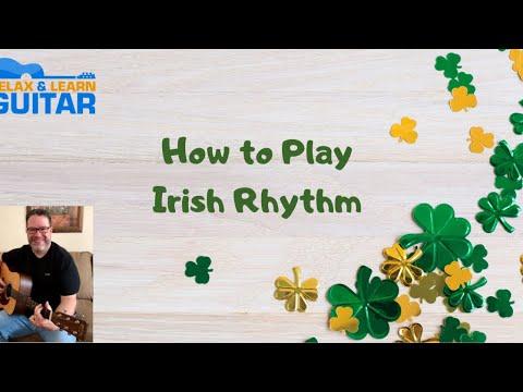 How to Play Irish Rhythm-Acoustic Guitar