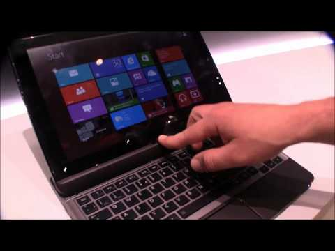 Toshiba Satellite U920t Convertible Ultrabook with Windows 8 hands on at IFA 2012