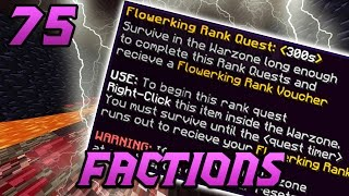 RANK QUESTS ON COSMIC! Minecraft COSMIC Faction Episode 75
