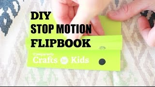 Make your very own Stop Motion Flipbook using 2 supplies: a sticky note pad and a marker! For full instructions go to: http://www.pbs.org/parents/crafts-for-kids/diy-stop-motion-flipbookSubscribe for new videos every Wednesday: http://www.youtube.com/subscription_c...Crafts for Kids is a weekly series that encourages parents and kids to spend time together making fun and simple projects. Brought to you by PBS Parents and Caroline Gravino of Salsa Pie Productions. Music provided by APM.