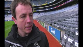 Interview with Stuart Wilson, Pitch Manager, Croke Park