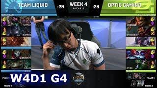 Video Team Liquid vs OpTic Gaming | Week 4 Day 1 S8 NA LCS Summer 2018 | TL vs OPT W4D1 MP3, 3GP, MP4, WEBM, AVI, FLV Juli 2018