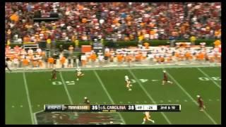Justin Hunter vs South Carolina & Troy (2012)