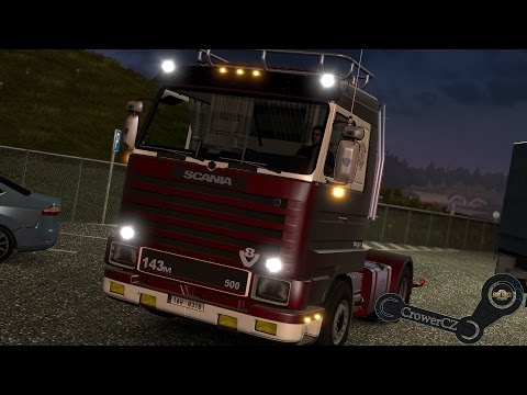Scania 143 + Trailer Shmitz