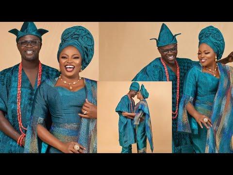 Yoruba Actress Funke Akindele Bello & Husband Celebrates 4th Wedding Anniversary - CONGRATULATIONS