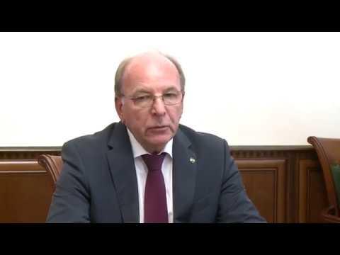 Президент Игорь Додон провел встречу с Послом Олегом Васнецовым