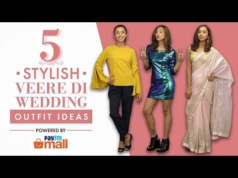 5 Stylish Veere Di Wedding Outfit Ideas  | Fashion | Pinkvilla