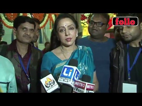 Hema Malini At Ravindra Jain Academy Awards!
