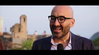 Nicola Guaglianone con Benedetta follia all'Ischia Film Festival 2018