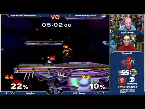 beegs - Live-stream by VGBootCamp: http://www.twitch.tv/vgbootcamp Fight Pitt 5! 11/1-2, 2014 Tournament organized by PGH NEHO: http://pghneohsmash.com/ http://www.t...
