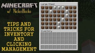 TIPS AND TRICKS for Inventory and Clicking Management [For Beginners&Veterans]