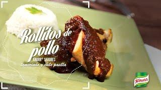 Rollitos de Pollo Knorr® Sabores Tamarindo y Chile Pasilla