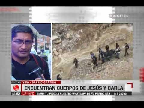 Autopsia a los cuerpos Jesús y Carla, la pareja desapareció en año nuevo