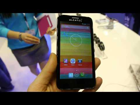 Alcatel OneTouch Snap hands-on