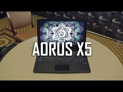 "AORUS X5 - 15"" 3K | GTX 965M SLI | 32GB RAM | M.2 RAID 0"
