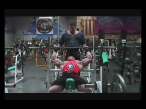 Dennis Wolf Chest Workout Part 1