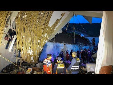 Peru: Tragisches Unglück - 15 Hochzeitsgäste kommen b ...